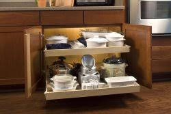 Kitchen Blind Corner Solutions Kitchen Shelves Shelfgenie Of Connecticut