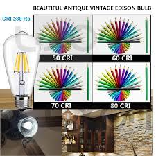 led vintage edison light bulbs 6w dimmable retro decorative