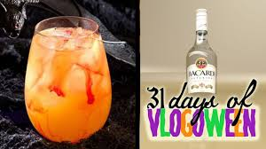 halloween drinks berry scary cocktail 31 days of vlogoween