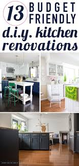 kitchen renovation idea affordable diy kitchen renovation ideas designer trapped