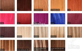 euronext hair extensions color chart indian remy hair