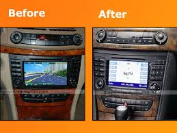 mercedes e class bluetooth android mercedes e class w211 dvd player gps navigation radio