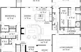 house plans open floor plan modern house plans 2 bedroom floor plan open concept kitchen and