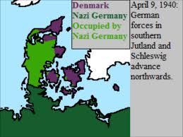 Map Of Denmark German Invasion Of Denmark Youtube