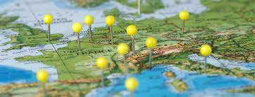 Map Pins World Map Pins Header 2 World Lit Up