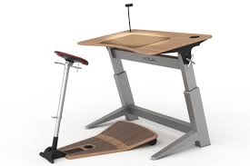 Standing Sitting Desk Office Upgrade Half Standing Half Sitting Workstation Bloomberg
