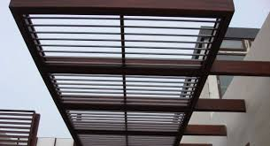 Miami Awnings Wood Grain Decorative Awnings Decoral System