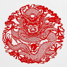 8 best images of chinese dragon paper cut out cutting paper