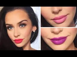valentine s day makeup tutorial 3 lip options