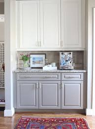 White Kitchen Cabinet Photos Two Toned Kitchen Cabinets White On Top Gray On Bottom With