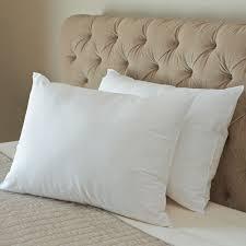 Cuddle Cushion The Cool On Contact Pillow Soft Density Hammacher Schlemmer