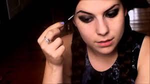 wednesday addams halloween costume wednesday addams makeup tutorial youtube
