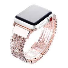 rhinestone bands apple band 38mm women fresheracc bling cz