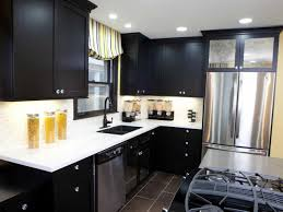 black kitchen cabinets with white countertop 25 black kitchen cabinets that are not dull