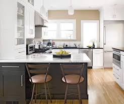 painting kitchen cabinets two different colors kitchen tone kitchen cabinets white with silver clamshell pulls