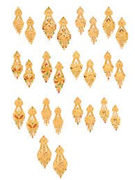 gold earrings design gold earrings designs boutiquedesignerjewellery