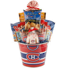 canadian gift baskets montreal canadiens fan gift delivery in canada