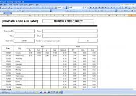 time clock spreadsheet excel and weekly timesheet template excel