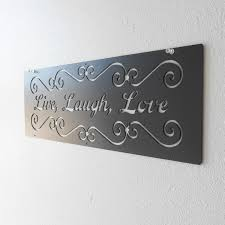 live laugh love metal art wall decoration metal sign home