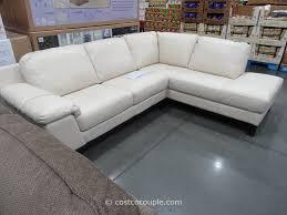 Leather Loveseat Costco Costco Leather Sofa