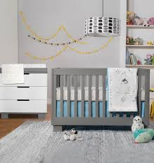 Grey Convertible Cribs Babyletto 2 Nursery Set Modo 3 In 1 Convertible Crib And