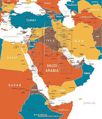 middle east map kazakhstan colored map of middle east map of middle east asia