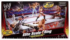 Wrestling Ring Bed by Amazon Com Wwe Elite Scale Ring Toys U0026 Games