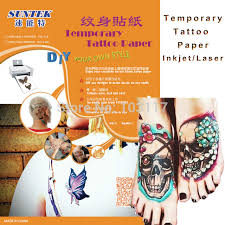 tattoo decal paper buy a4 carbon printable temporary tattoo transfer stencil paper with