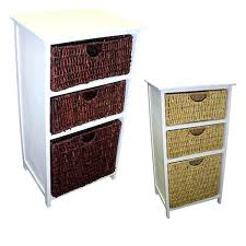 White Wicker Bathroom Drawers Bathroom Storage Vanities Bathroom Cabinets Shelves Cabinet With