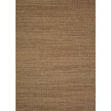 Brown Area Rugs Shop Allen Roth Bestla Brown Indoor Outdoor Distressed Area Rug
