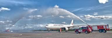 Japan Airlines Route Map by Route Development Tallinna Lennujaam