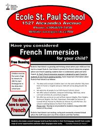 child in french ecole st paul u2014 nprh