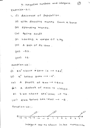 rd sharma solutions class 6 maths chapter 5 negative numbers and