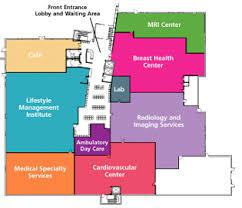 outpatient center hospital floor map 1st floor beverly