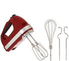 Used Kitchen Aid Mixer by Kitchenaid 7 Speed Digital Hand Mixer With Dough Hooks Page 1