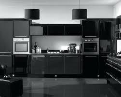 High Gloss Black Kitchen Cabinets Black High Gloss Kitchen High Gloss Black Kitchen Cabinets
