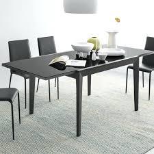 Black Glass Extending Dining Table Black Extendable Dining Table Extending Dining Table Black