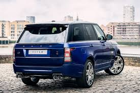 navy land rover kahn range rover 600 le bali blue luxury edition picture 100465