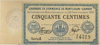 chambre de commerce var 50 centimes regionalism and miscellaneous 1914 jp 084 07var