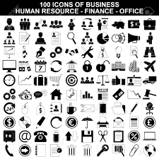 bureau des ressources humaines icônes d affaires ressources humaines finances et le bureau