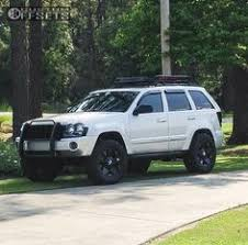 jeep grand customization matte black paint black rims lights 2005 jeep grand