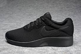 Nike Tanjun Black fashionable wmns nike tanjun black 812654 001 unisex running shoes