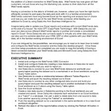 Executive Summary Example For Resume by Executive Brief Sample Resume Profile Samples Phd Without Research