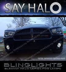 halo lights for 2013 dodge charger 2011 2012 2013 2014 dodge charger halo fog l driving light kit