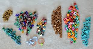 macrame bracelet with beads images How to macram a hemp bracelet rings and things jpg