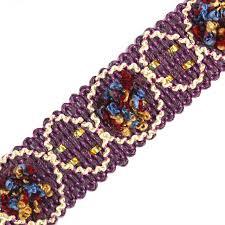 ribbon trim braided light purple lace ribbon trim webbing motif applique