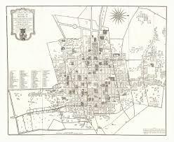Plano Map Plano Geometrico De La Imperial Noble Y Leal Ciudad De Mexico