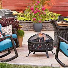 Lowes Patio Furniture by Slab To Fab Patio Makeover