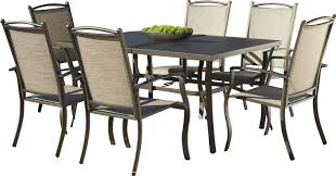 Patio Furniture 7 Piece Dining Set - three posts pavilion 7 piece dining set u0026 reviews wayfair