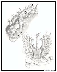 Bass Guitar Tattoo Ideas Dbs 006 Tattoo Tattoo Images By Rita Teague